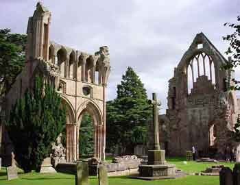 William Chambers, Dryburgh Abbey