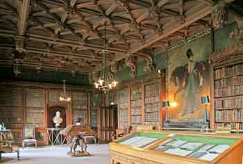 Scott's Library at Abbotsford House