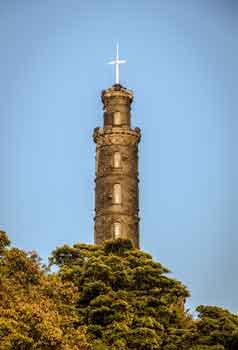 Nelson's Column, Calton Hill Edinburgh