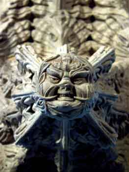 Rosslyn Chapel carving