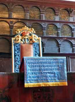 Deacon's Chair, Magdalen Chapel