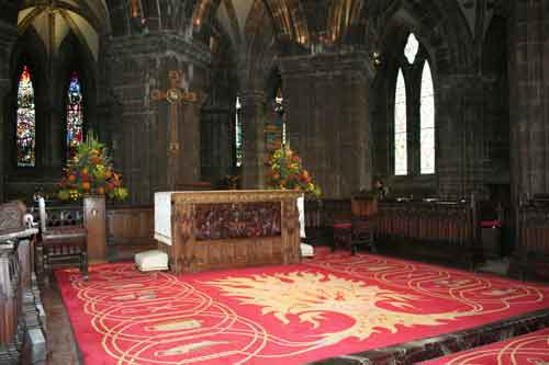 Glasgow Cathedral, St Mungo's tomb