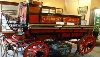 James Braidwood. An1824 Edinburgh fire engine