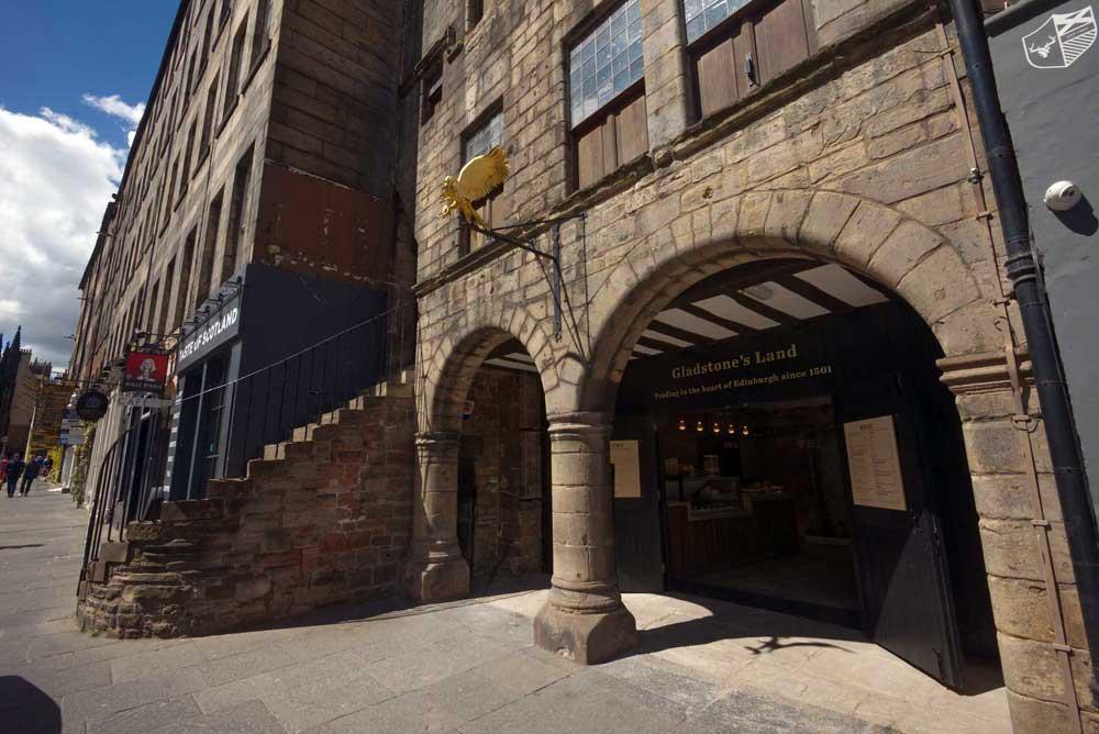 NTS property in Edinburgh, Gladstone's Land
