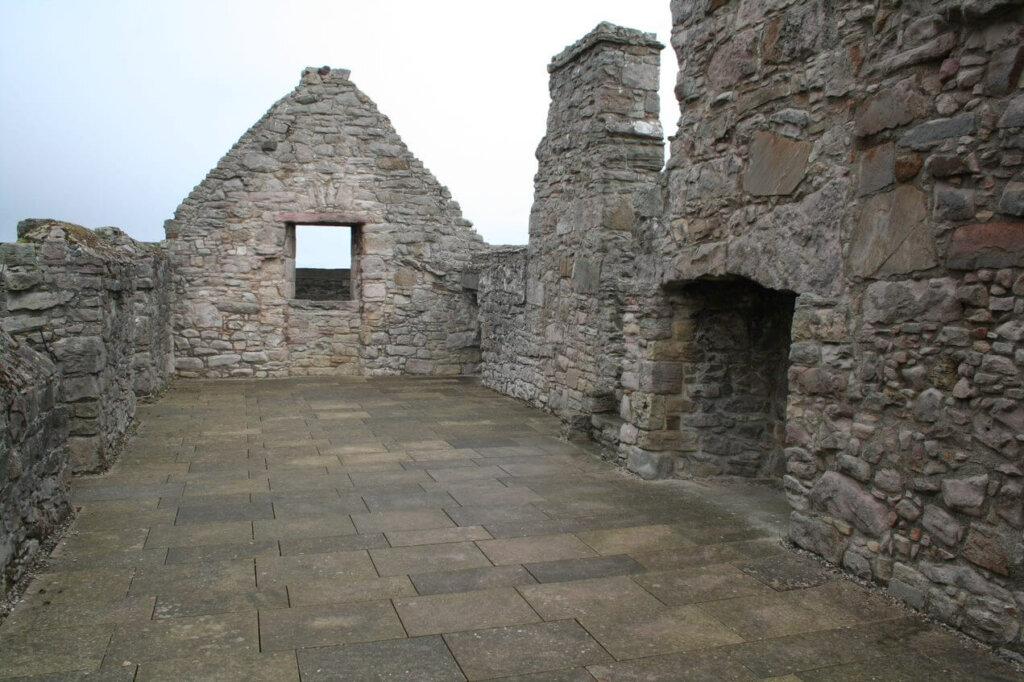 Craigmillar Castle, east Range